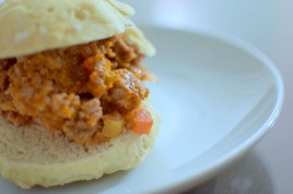 Sloppy Joes & Homemade Buns-013